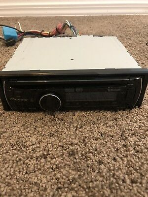 pioneer deh-p6200bt in-dash stereo system with bluetooth audio and  microphone