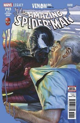 Amazing Spider-Man #793 Alex Ross Cover 2Nd Print Marvel (2018) Venom