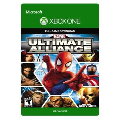 MARVEL: ULTIMATE ALLIANCE * Xbox One Digital Game Download