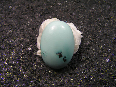 7.00ct 100% natural HuBei AAA loose spiderweb turquoise cabochon gemstone t1583