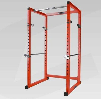 Gymano Ultimate Power Rack With Lat Tower (Can Deliver)