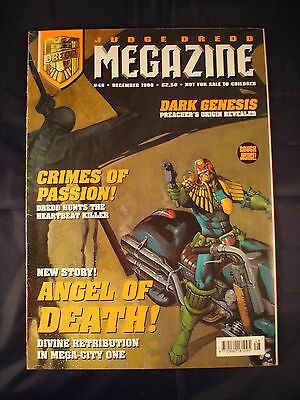 Judge Dredd Megazine - Issue 48 - December 1998