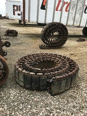 M4 Rubber Track for High Speed Tractor or Sherman Tank, 1 Pair, Used, Wood Tiger