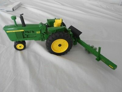 John Deere Toy Tractor Model 4010 Diesel with attachment