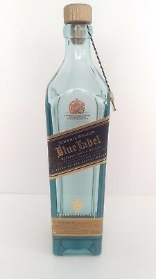 Johnnie Walker Blue Label Blended Scotch Whisky Empty Bottle 750ml Near Mint!!!