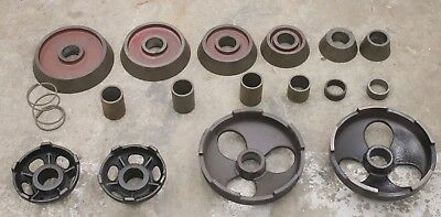 """AccuTurn or Ammco 1-7/8"""" Arbor Truck Adapter Set for Brake Lathe Cones Adapters"""