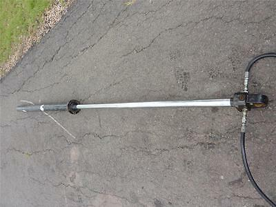 Industrial Double Acting Hydraulic Ram 92 mm OD x 1600 mm Stroke
