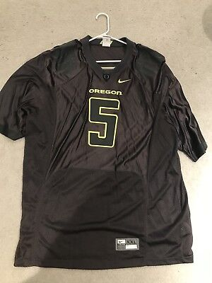 Oregon Ducks Nike Team Stitched Volt And Gray NCAA Football Jersey XXL Rare   5 b4fabfcb1
