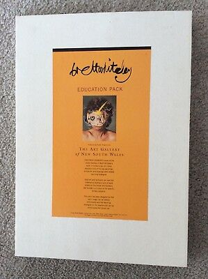 Brett Whiteley - Education Pack - 10 x A3 Reproductions of his art.