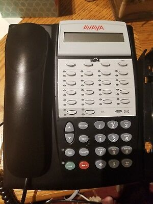 Avaya Partner 18D Series2 Black Business Office Phone  700420011 18D-0003