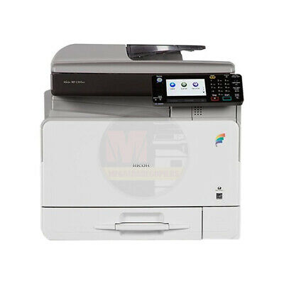 Lot of 10 Ricoh Aficio MP C305SPF Color Multifunction Printer Copier Scanner