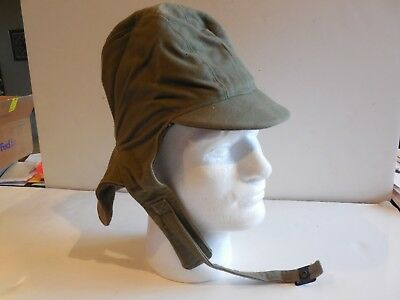 Vintage WW II US Navy Deck Cold Weather Cap, Unissued