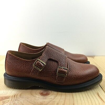 best collection no sale tax attractive price DR MARTENS PANDORA Double Monk Strap Size 7 Womens Chestnut ...