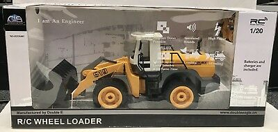 BRAND NEW RC Toy Radio Control Wheel Loader Heavy Industry #E519 Double Eagle