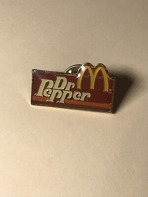 mcdonalds DR Pepper pin, vintage