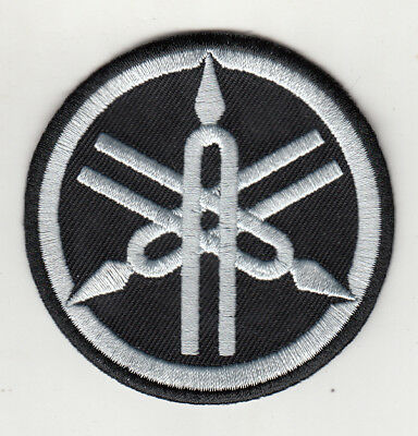 Yamaha Tuning Fork Embroidered Patch