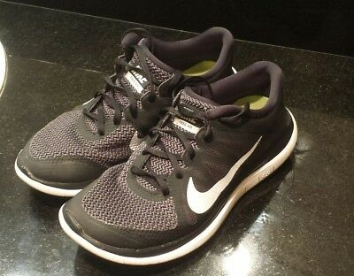 the latest 62a80 ca126 Nike Free 4.0 V4 black white Running shoes sneakers 642197-001 men s size  8.5