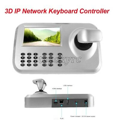 3D Axis Joystick Network Keyboard Controller For IP Dome Camera Surveillance