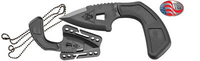 Ka-Bar TDI Shark Bite Tactical Defense Knife-Black-9908