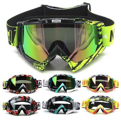 Motorcycle Goggles Motocross Racing ATV MX Dirt Bike Off Road Eyewear Safety