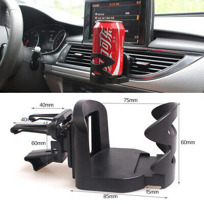 Universal Car Van Drinking Water Bottle Can Cup Mug Mount Holder Air Vent Stand