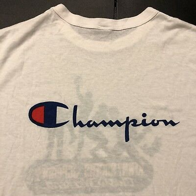 Vintage 80's Champion Shirt Kenny Rogers JC Penny Classic 70's 90's Sports Rare