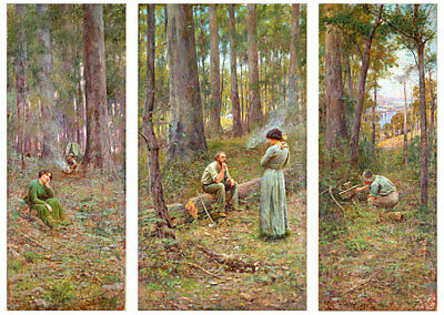 The Pioneer by Frederick McCubbin Print