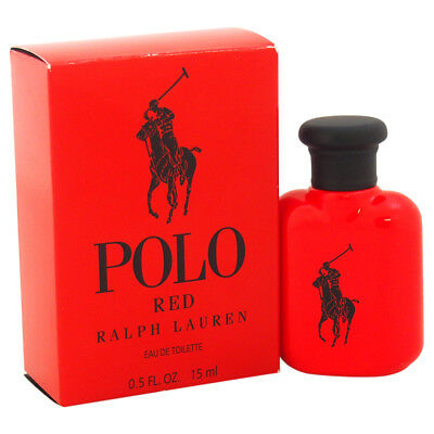 Polo Red Mini Cologne by Ralph Lauren EDT 15 ml / 0.5 oz - NIB