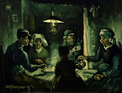 Vincent van Gogh Print The Potato Eaters