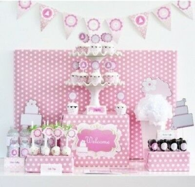 Pink Cake Mod Party Kit. Event Blossom. Brand New