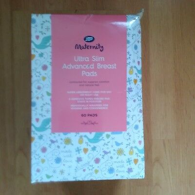 Disposable Breast pads. Boots maternity ultra slim advanced breast pads. New