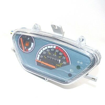 Scooter Speedometer Light Gauge Dashboard Instrument Cluster GY6 50cc 139QMB