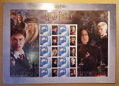 Harry Potter and the Half Blood Prince stamp pack sheet - special character tabs