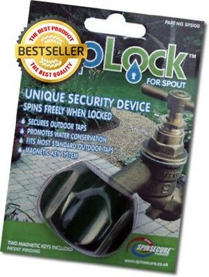 Outdoor Garden Tap Security Lock Device Ideal For Saving Wat
