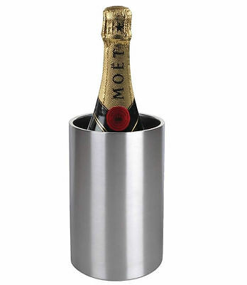 Wine Bottle Cooler Thermal Doubled Walled Champagne Stainless Steel Bucket