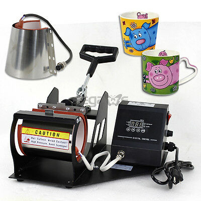 Various Mug Attachment 11/12oz Latte Heat Press Transfer Machine Stainless Steel