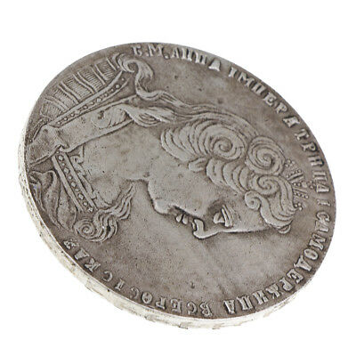 Silver Plated Ancient Russian Coins Commemorative Coin Toy Collection Art #2