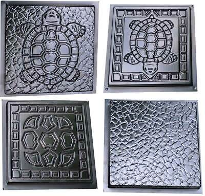 SOLD 1 mold Turtle Stepping Stone Concrete Cement Mould garden path TURTLE STYLE