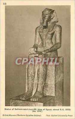 CPA Statue of Sekhem Uatch Taui Ra King of Egypte about B C 2000 British Museum