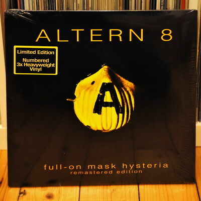 Altern 8 - Full On Mask Hysteria - Limited Remastered 2016 - 3x LP - Vinyl + mp3