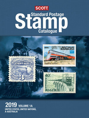 2019 Scott Standard Postage Stamp Catalogue - Volume 1 (US & A-B)