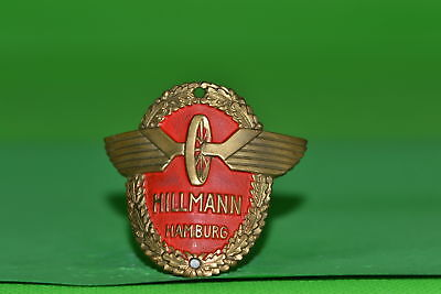 Vintage bicycle - Tablet Logo of the manufacturer-Hillmann Hamburg-4628