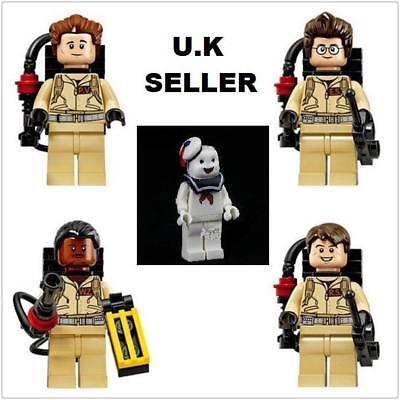 Ghostbusters Minifigure Stay Puft Marshmallow Man Egon Winston Mini Figure