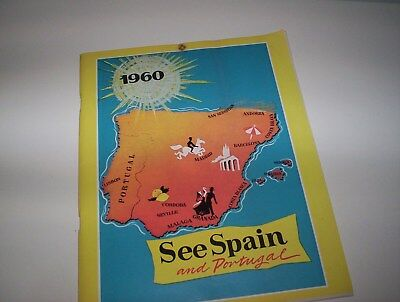 Vintage, Spain & Portugal Holiday Brochure-1960.