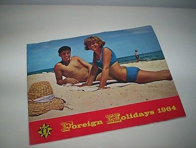 Vintage, Foreign Holiday Brochure- 1964.