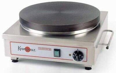 "Krampouz CECIF4 Single Electric Crepe Cast Iron Griddle 16.75"" Diameter"