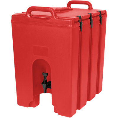 Cambro 1000LCD158 Camtainer® 11-3/4 gallon Beverage Carrier - Hot Red
