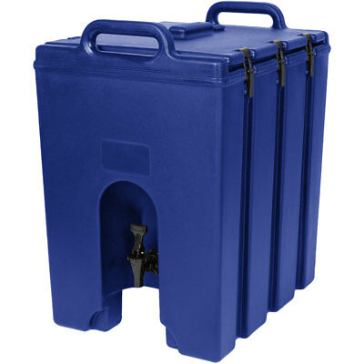 Cambro 1000LCD186 Camtainer 11-3/4 gallon Beverage Carrier - Navy Blue