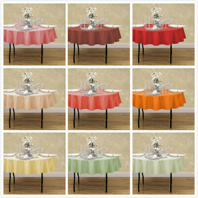 LinenTablecloth 70 in. Round Polyester Tablecloths, 33 Colors! for Event&Wedding