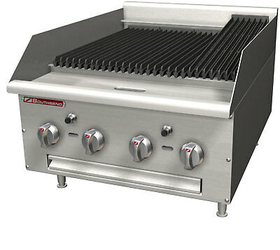 "Southbend HDC-48 48"" Wide Heavy Duty Countertop Gas Charbroiler"